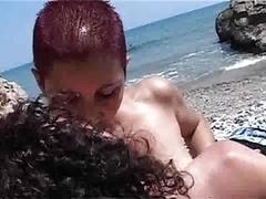 Пляж, Вчетвером