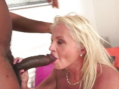 Bigtits gilf banged by sizeable black dick