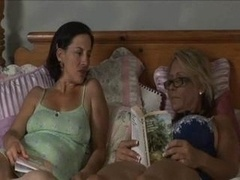 Pussy Play With Sizeable Boob Lesbian...