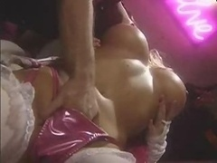 Stacy Valentine Gets down and dirty In Back Of...