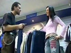 Czech slut fucked in dressing room