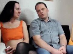 Sexy sluts worship to have fun