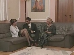 Granny And plus Sexually available mom In Stockings Fuc...
