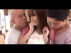 Japanese Housewife Yui Misaki Dual Creampie (Uncensored)