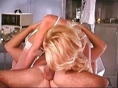Blonde Nurse Sheridan