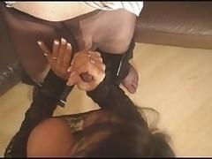 Cumming in his Pantyhose