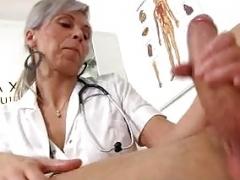 CFNM hospital adult entertainment with an Euro milf Beate