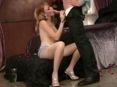 Charming Redhead French Girl wife splendid couple sex