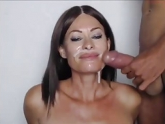 Sexually available mom facial compil