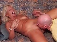 hot blonde Mature