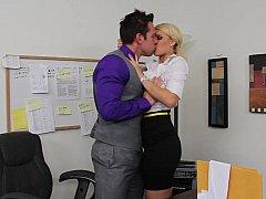 Блондинки, Секс без цензуры, Милф, В офисе, Секретарша