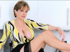 Adulterous english eager mom lady sonia showcases her monster boo
