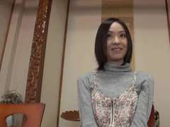 Lean Japanese Woman get Screwed and Creamed
