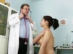 Gyno Patient Monika Pussy Speculum Gyno Clinic Examination