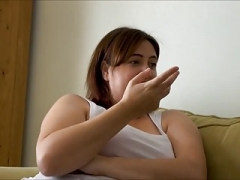 Slightly fat Babe Laura Lu Hungry For Fuck tool