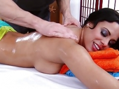Brazzers - Dirty Masseur - Getting Loose in the Blue Room sc