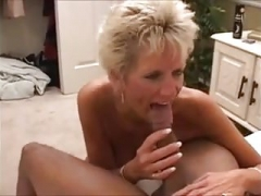 Hot Interracial Granny