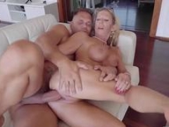 Blonde Marina Beaulieu got banged hard