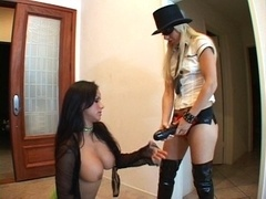 Lesbians like it wacky and besides dripping wet