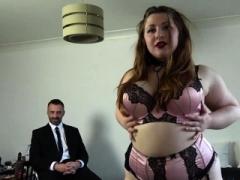 Kinky adult bbw Estella Bathory submits to Pascals BDSM slamming