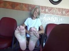GRANNIE Undressed FEET SOLES - saf