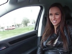 Mofos - Stranded Teen cuties - Brunette Gets in a Strangers Car st