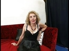 Gaping Anal Granny In Stockings Has an intercourse Th...