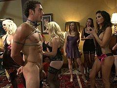 ブロンド, 茶髪の, 着衣女と全裸男, 服従, オランダ人, 女, 愛人, 公共