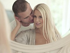 Home sweet home hardcore sex with hot blondie