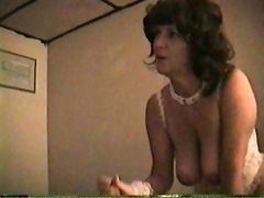 Mature Inexperienced Housewife Sucks And Has an intercourse At Home