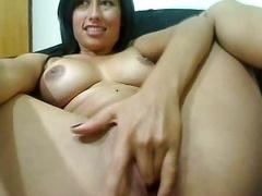 babe wanking to orgasm