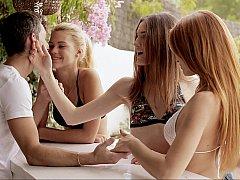 Mignonne, Européenne, Groupe, Hard, Innocente, Rousse roux, Maigrichonne, Adolescente