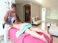 Gay massage for white mf fella