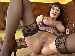 Teasing and moreover having an intercourse Milf Eva Karera