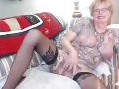 Granny with tats