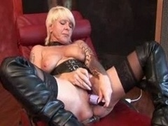 German Aged Pussyplay