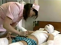 Japanese Nurse Getting down and dirty A...