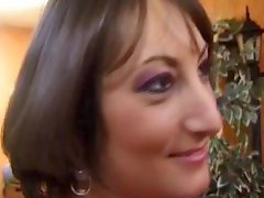 French milf fucked by two guys