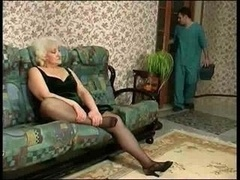 Blonde Granny Wants To Get down and dirty The...