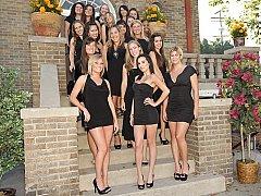 Leie, Amerikanisch, Bad, Grosse titten, Blondine, Süss, Kleid, Realität