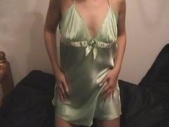 Sexy Gal Silky Satin Nighty Slip