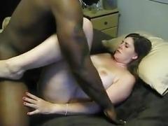 white whore enjoys