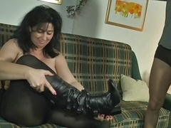 sexy german mom in action