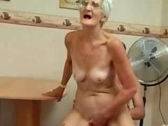 Insatiable Granny Just Loves Ramrod !