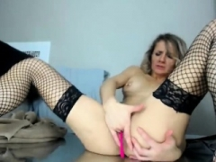 Stockings brit toys snatch
