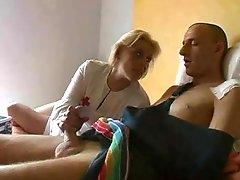Blonde Older Nurse