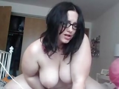 Solitary ACT WITH A HOT Unshaved PUSSY BBW AND HER TOY