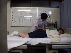 Japanese Lady Get A Massage And...