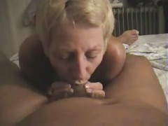 Nudist Filming His Wife Sucking his cock At Home