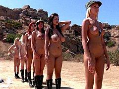 Tetas grandes, Rubia, Grupo, Lesbiana, Desnudo, Tetas